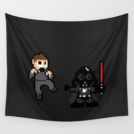 Pixel Wars Wall Tapestry