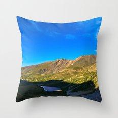 Kite Lake Sunrise Throw Pillow