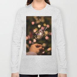 Sparkler (Color) Long Sleeve T-shirt
