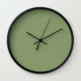 SAGE GREEN Wall Clock