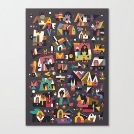 Schema 15 Canvas Print