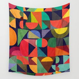 Color Blocks Wall Tapestry