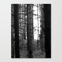 bigfoot Canvas Prints featuring Bigfoot by Ryan Greaves