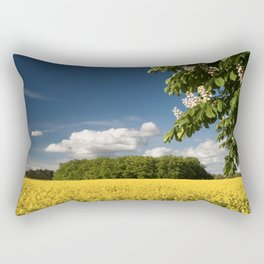 Springfield and blooming chestnut Rectangular Pillow