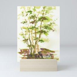 Tree Cluster Mini Art Print