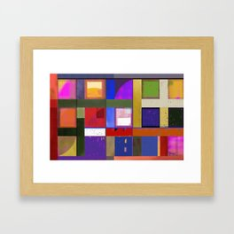 Downe Burns - Tripping On Life VI Framed Art Print