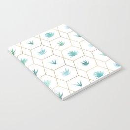 Geometric Succulents Notebook