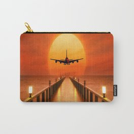 Sunset Takeoff Carry-All Pouch
