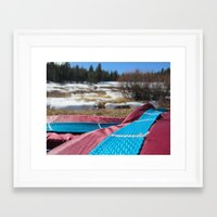 backpack Framed Art Prints featuring Backpack 1 by Heath Pierson