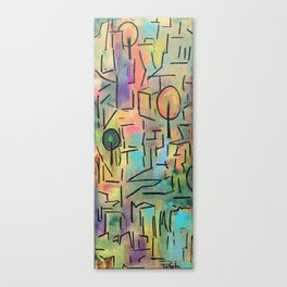 Colors and shapes number two Canvas Print