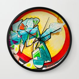 """""""On Zion"""" Wall Clock"""