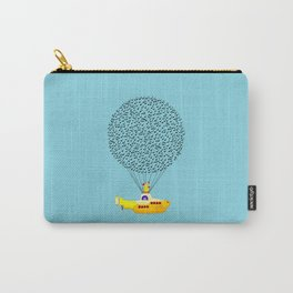 Musical Yellow Submarine Carry-All Pouch