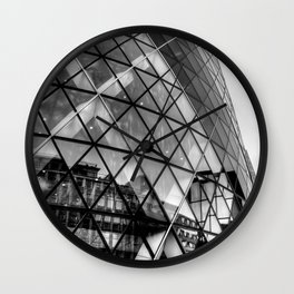 The Gherkin, London Wall Clock