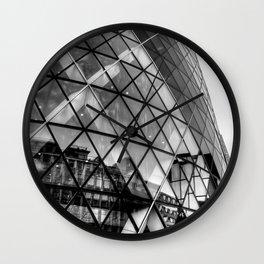 The Gherkin, London Wall Clock