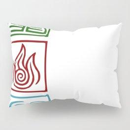 The 4 elements Pillow Sham