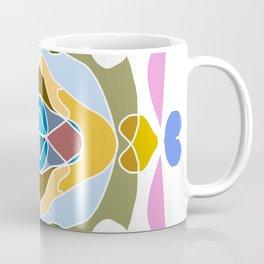 Intricate and detailed mandala with many colors Coffee Mug