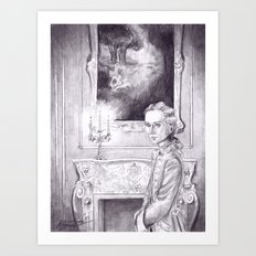 Rococo Vampire Art Print