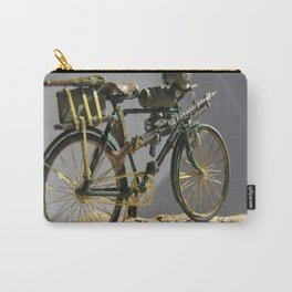 Old bicycle Zvonekmakete Carry-All Pouch