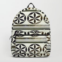 Moroccan Motifs Backpack