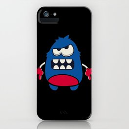 Angry Monster iPhone Case