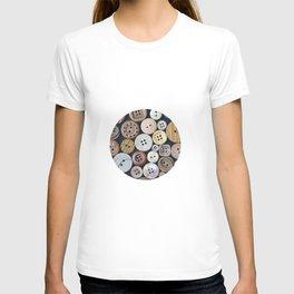 Wooden Buttons T-shirt