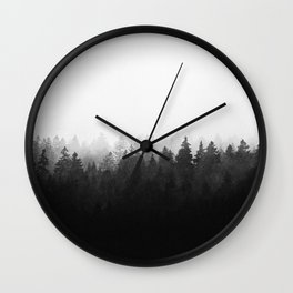 A Wilderness Somewhere Wall Clock