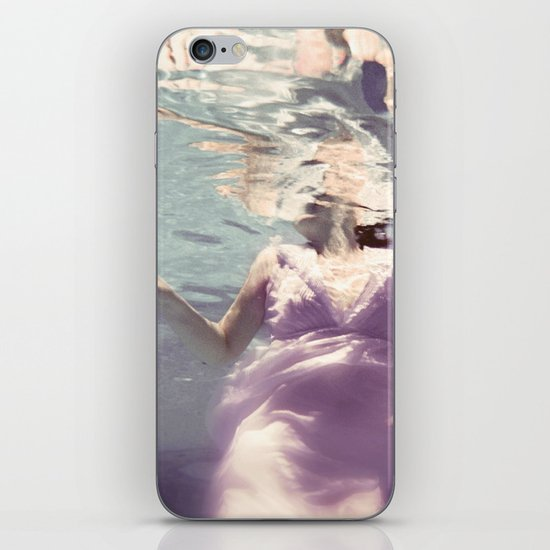 Dive in Violet iPhone & iPod Skin