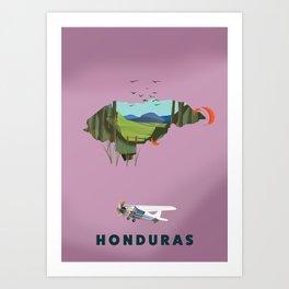 Honduras Art Print