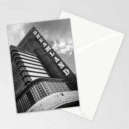 iconic 1920's art deco entrance to the Dreamland amusement park Stationery Cards