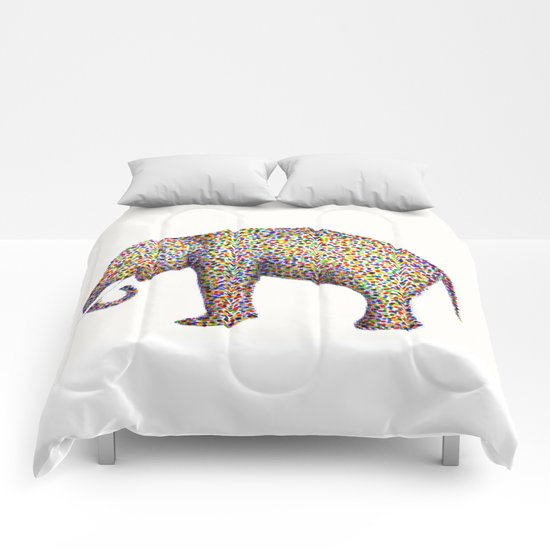 elephant color Comforters