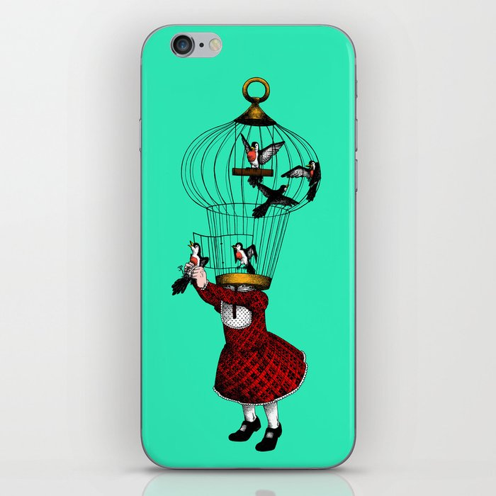 the cage iPhone Skin