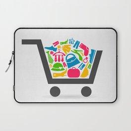 Clothes a cart Laptop Sleeve