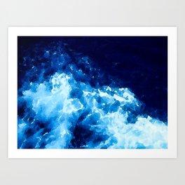 The Deep Blue Sea Art Print