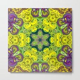 Star Flower of Symmetry 613 Metal Print