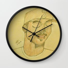 Chance the rapper by Double R Wall Clock