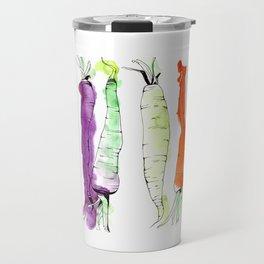 Rainbow Gardens: Carrots Travel Mug