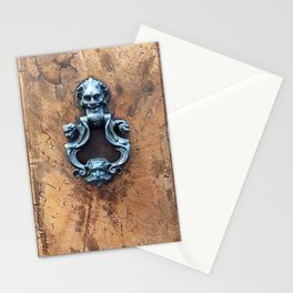 Antique Door Decorative Knocker Stationery Cards