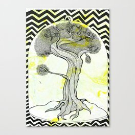 The wisdom of trees Canvas Print