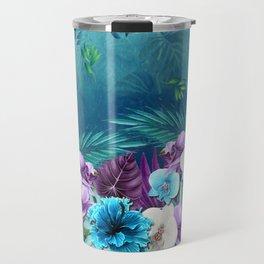 Blue Hawaiian Rain Forest Travel Mug