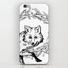 Fox King iPhone & iPod Skin