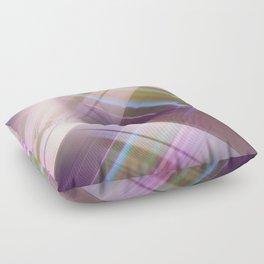 Layer Cake in Purple Floor Pillow