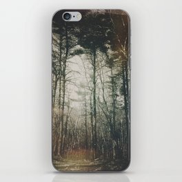5 am forest wanders iPhone Skin