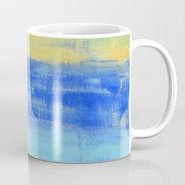 Relaxing Beach Aqua Turquiose Nautical Abstract Art Coffee Mug