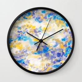 Canopy Blue Wall Clock