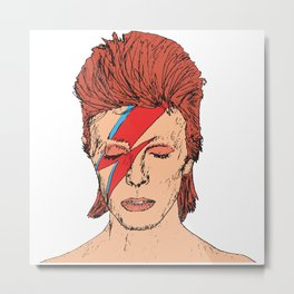 David Bowie Metal Print