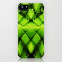 woven plant iPhone Case