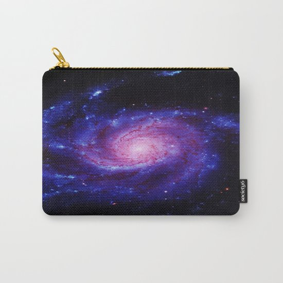 Spiral gAlAxy : Purple Blue Carry-All Pouch