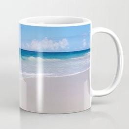 The Ocean's Lacy Fringe - Version 2 - Tropical Horizons Series Coffee Mug