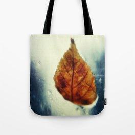 Poetic Winter Tote Bag