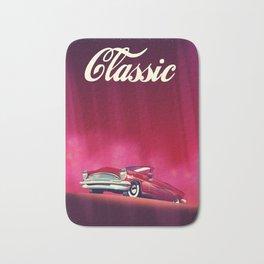Classic Vintage Car, Bath Mat